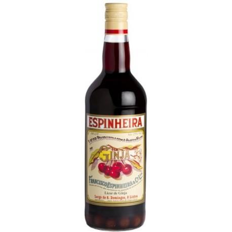 Likör Ginja Espinheira Mit Früchten 1L