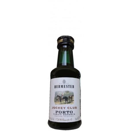 Port Miniaturflasche Burmester Jockey Club Tawny Reserve
