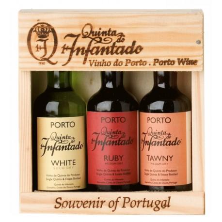 Port Miniatures Quinta do Infantado Portwein 3 x 5cl