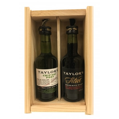 Taylors Port Miniatures 2 x 5cl