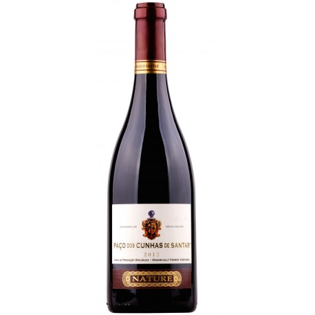 Paço dos Cunha de Santar Nature Rot 2012 Bio Wein