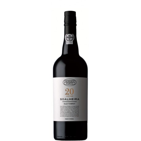 Borges Soalheira 20 Year Old Tawny Port 75cl