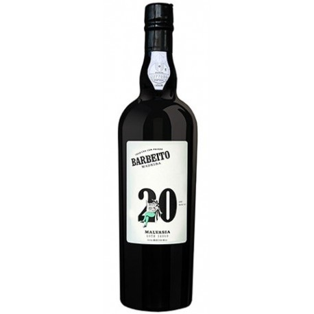 Barbeito Malvasia 20 Jahre Madeira