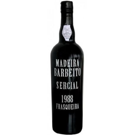 Barbeito Frasqueira Sercial Madeira 1988