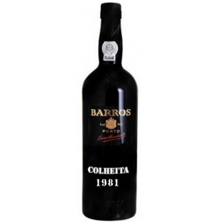 Barros Colheita Tawny Port 1981