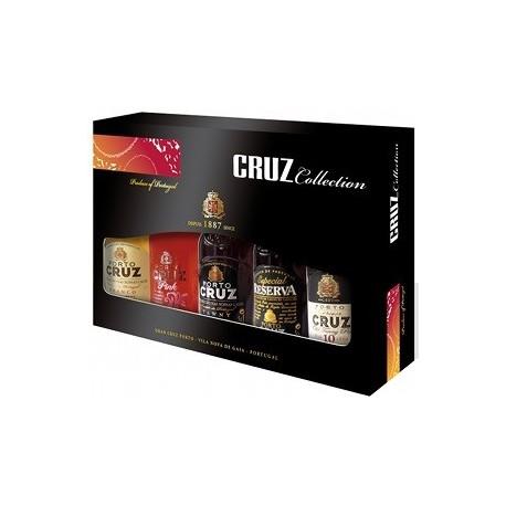 Portwein Miniaturen Cruz 5 x 5cl