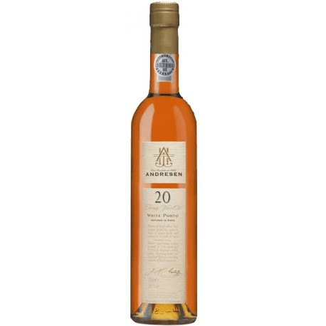 Andresen 20 Year Old White Port Wine 50cl
